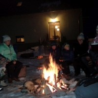 Zimowe ognisko